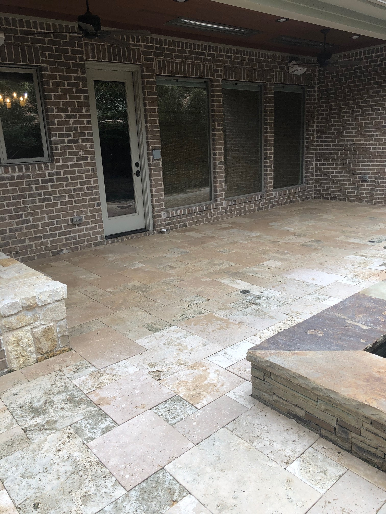 patio pressure/power washing